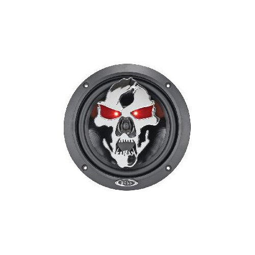 "Boss Audio Sk652 Phantom Skull 300-Watt 2 Way Auto 6.5"" Coaxial Speaker"