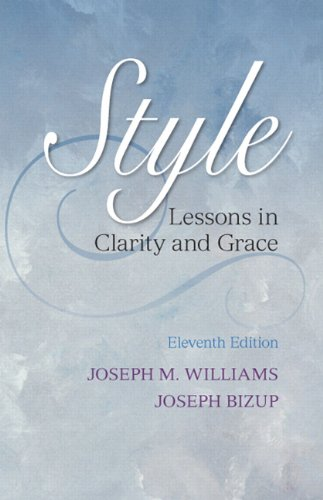 style-lessons-in-clarity-and-grace-11th-edition