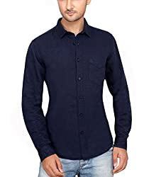 Ecohawk Blue Casual Slim Fit Shirt 10090-H