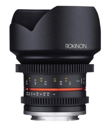Rokinon Cine Cv12M-Mft 12Mm T2.2 Cine Lens For Olympus/Panasonic Micro 4/3 Cameras