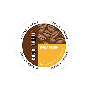 Caza Trail Single Serve Cup for Keurig K-Cup Brewers, 50 Count