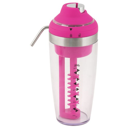 True Fabrications Vortex Electric Pink Cocktail Mixer And Dispenser front-106700