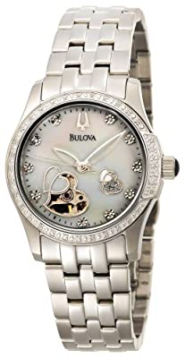 Bulova Women's 96R122 Diamond Accented Automatic Watch