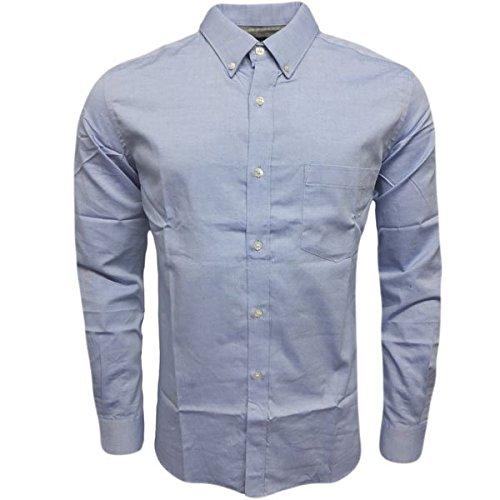 french-connection-camisa-casual-para-hombre-azul-azul-small