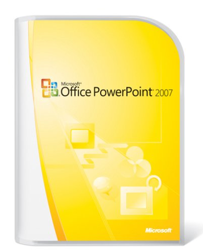 Microsoft Office PowerPoint 2007 - Version upgrade package - 1 PC - CD - Win - German