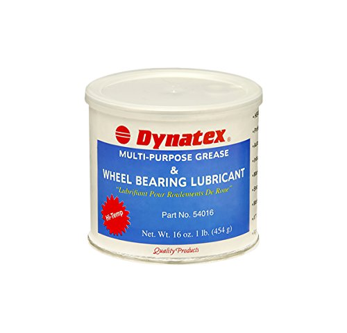 Dynatex 54016 Lithium Complex Hi-Temp Wheel Bearing Grease, 16 oz Tub, Amber (High Temp Bearing Grease compare prices)