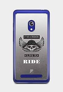 YuBingo Live To Ride Designer Mobile Case Back Cover for Asus Zenfone 5