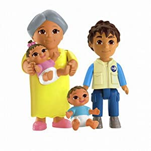 Fisher-Price Dora the Explorer: Playtime Together Family