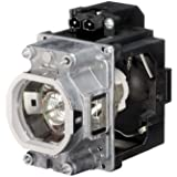 GLAMPS VLT-XL7100LP Projector Replacement Lamp With Housing For Mitsubishi XL7100U WL7200U UL7400U Projector