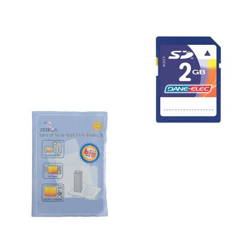 Jvc Gy-Hm650 Camcorder Accessory Kit Includes: Ksd2Gb Memory Card, Zelcksg Care & Cleaning