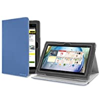 Version Stand Cover Case for Lenovo IdeaTab S6000 - Blue