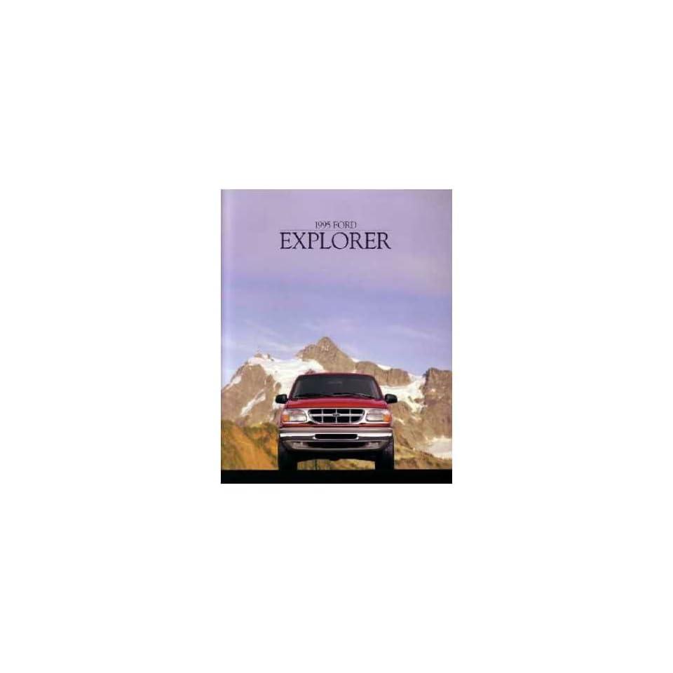 1995 Ford Explorer Sales Brochure Literature Piece Advertisement Specifications