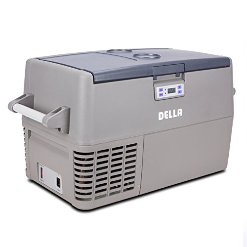 Della Portable Electric Cooler Refrigerator Freezer Auto RV Car Truck Boat 12V (33 Liters) (Electric Portable Freezer compare prices)