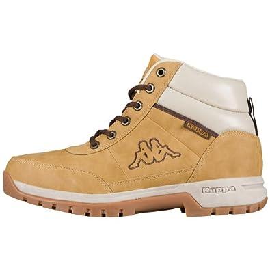 Kappa BRIGHT MID Footwear unisex, Herren Hohe Sneakers, Beige (4141 BEIGE), 40 EU (7.5 Herren UK)