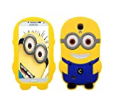 New Despicable Me 2 Minion Soft Silicone Case for Samsung Galaxy S4 I9500 & I9505- Dave