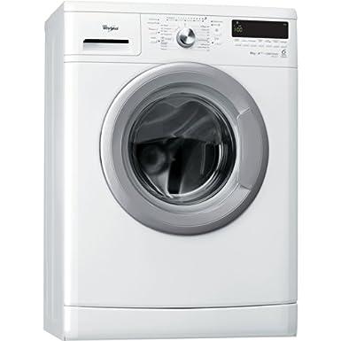 Whirlpool AWS 6213 machine à laver - machines à laver (Autonome, Charge avant, A+++, A, B, Blanc)