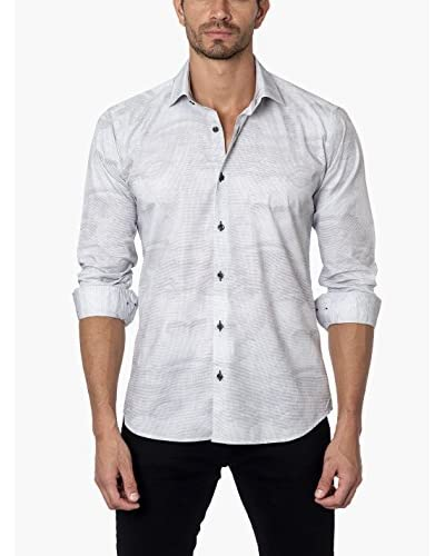 Jared Lang Men's Tapered Button-Up
