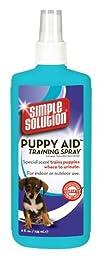 Simple Solution Puppy Aid Training Spray, 8 Ounces