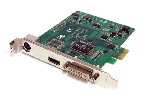 StarTech.com PCI Express HD Video Capture Karte - HDMI / DVI / VGA / Component - PCIe Videoschnittkarte 1080p30