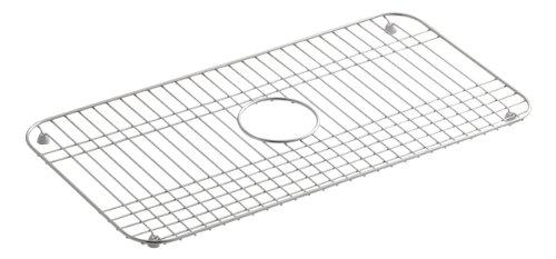 KOHLER K-6517-ST Bakersfield Bottom Basin Rack, Stainless Steel (Stainless Steel Sink Protectors compare prices)