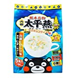 熊本 ご当地グルメ 元祖 太平燕 (たいぴーえん) 白湯とんこつ味 5食入X2個セット (くまモン マグカップサイズ イケダ食品)