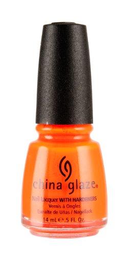 China Glaze Nail Polish, Sun Worshiper, 0.5 Ounce