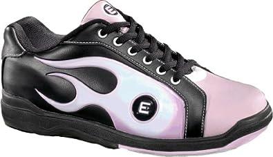 Buy Etonic Black Pink Ladies Flame Bowling Shoes by Etonic