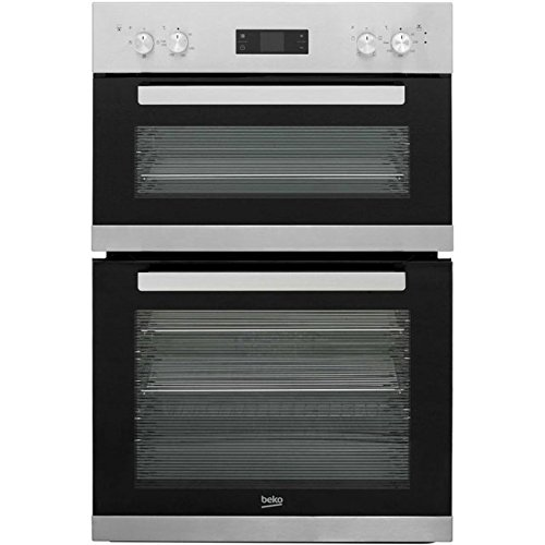 Beko BRDF22300X Built In Double Oven - Stainless Steel. It Will Perfeclty Look Great Built Into Your Kitchen