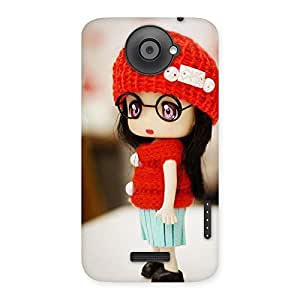 Stylish Cute Little Angel Multicolor Back Case Cover for HTC One X