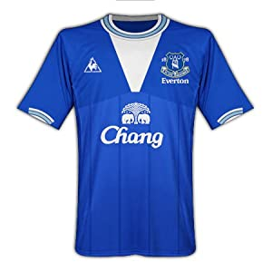 09-10 Everton home shirt