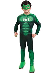 Deluxe Muscle Chest Hal Jordan Costume - Medium