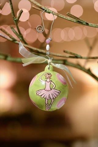 Glory Haus 2050108 Ballerina Green wand Pink Dots Pack of 2