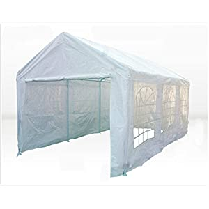 DELTA Canopies 20'X10′ PE Water Resistant Party Wedding Tent carport Canopy