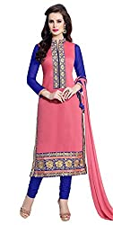 Dharmee Women Cotton Ethnic Dress Material(Heerni_Ayesha)