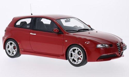 Alfa-Romeo-147-GTA-rot-Modellauto-Fertigmodell-Ottomobile-118