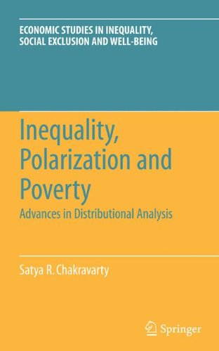 Inequality, Polarization and Poverty: Advances in Distributional Analysis (Economic Studies in Inequality, Social Exclusion and Well-Being)