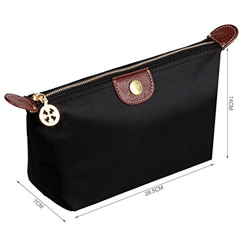 Bestrice iConic-Frame Pouch-Cosmetics Case Makeup Bag Travel Accessory  Organizer (Black) d42e4319d7ed2