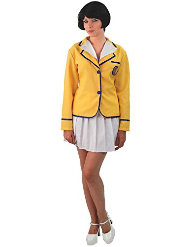 Ladies Sexy Happy Camper Holiday Camp 80s TV Fancy Dress Costume - 4 Sizes
