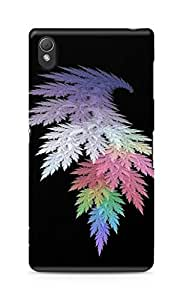 Amez designer printed 3d premium high quality back case cover for Sony Xperia Z3 (Wings leaves)