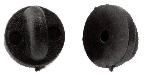 Plastic Uniform Pin Badge Insignia Clutch Backs, Quantity: 10
