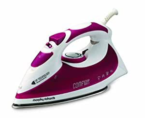 Morphy Richards Comfigrip 40728 Steam Iron, Mulberry