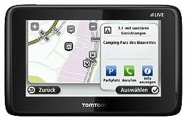 TomTom GO LIVE 1015 Camper & Caravan (Wohnmobil-Sonderziele und ADAC Camping- und Stellplatzführer) ab 359,- Euro inkl. Versand