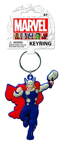 Toy Zany - Portachiavi Marvel Thor Soft Touch Pvc