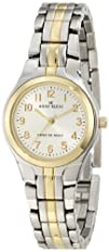 Anne Klein Womens 105491SVTT Two-Tone Dress Watch