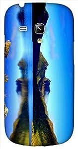 Timpax protective Armor Hard Bumper Back Case Cover. Multicolor printed on 3 Dimensional case with latest & finest graphic design art. Compatible with Samsung S-3Mini - I8190 Galaxy S III mini Design No : TDZ-26045