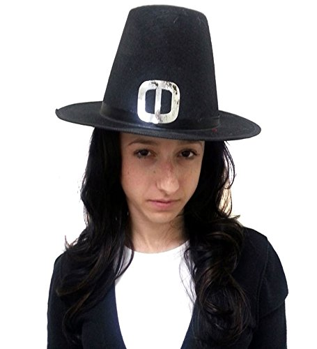 Pilgrim Hat - Traditional Adult Pilgrim Hat for Costume Accessory
