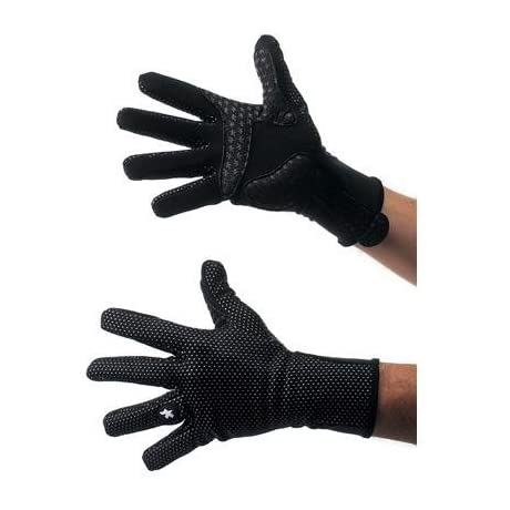 Assos 2013 EarlyWinter 851 Full Finger Winter Cycling Gloves - Black - P13.52.505.10