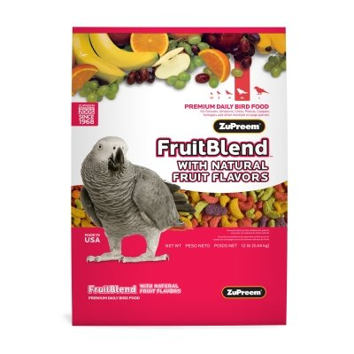 "Brand New Premium Nutritional Products - Fruit Blend Medium/Large Bird (2Lb) ""Bird Products - Bird - Food: Seeds & Pellets"""