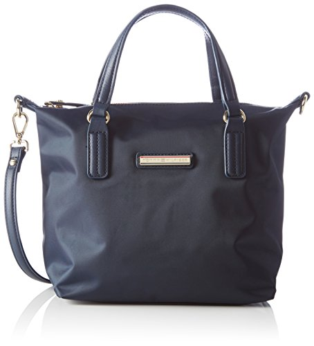 Tommy Hilfiger - POPPY SMALL TOTE, Borse da donna, midnight, OS