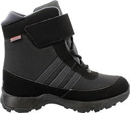 adidas Outdoor Kids Unisex Adisnow CF CP (Little Kid/Big Kid) Black/Dark Grey/Night Metallic Boot 10.5 Little Kid M